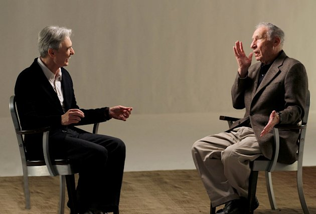 David Steinberg and Mel Brooks as seen on &quot;Inside Comedy.&quot; 