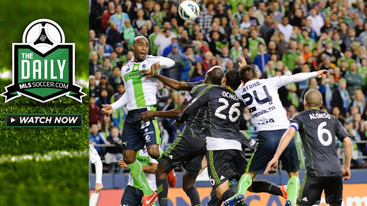The Daily 4/10 - The Sounders fall short, LA Galaxy final MLS team in CCL play
