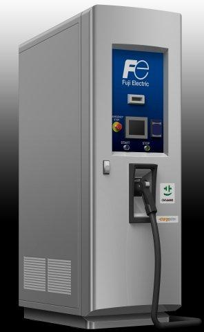 Fuji Electric Begins U.S. Production of EV Charging Stations