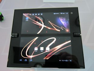 Hands on: Sony Tablet P is a little bit &#x201C;niche&#x201D;
