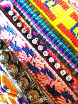 Rock lots of bracelets!!