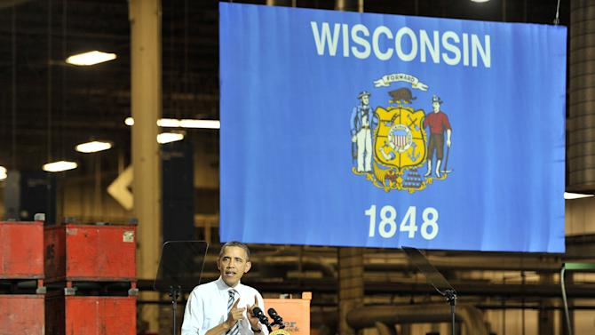 Poll: Obama Re-Emerges As Favorite In Wisconsin, Opens Up 8-Point Lead