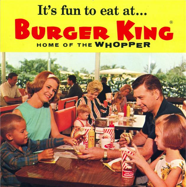Burger King's Whopper Through the Years
