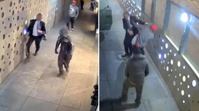 Two arrested for brutal strong-arm robbery in San Francisco