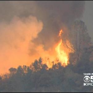 Wildfire Near Yosemite 40% Contained, 8 Structures Destroyed