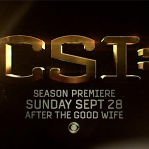 CSI: - Season Premiere (Preview)