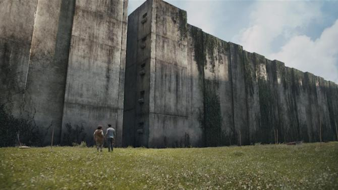 """This image released by 20th Century Fox shows a scene from the film, """"The Maze Runner."""" (AP Photo/20th Century Fox, Ben Rothstein)"""