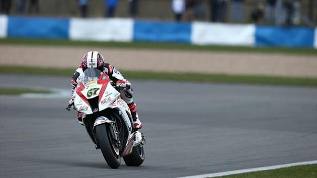 Snetterton BSB test: Byrne takes charge in second session