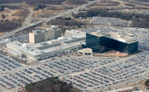 The National Security Agency (NSA) headquarters at …