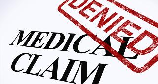 Medical claim denied copyright Stuart Miles/Shutterstock.com
