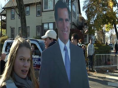 Mass. Voters imagine a Romney presidency
