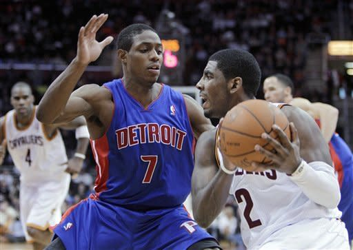 Jamison, Irving rally Cavs past Pistons, 101-100