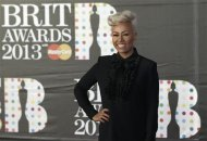Emeli Sande arrives for the BRIT Awards at the O2 Arena in London February 20, 2013. REUTERS/Luke Macgregor