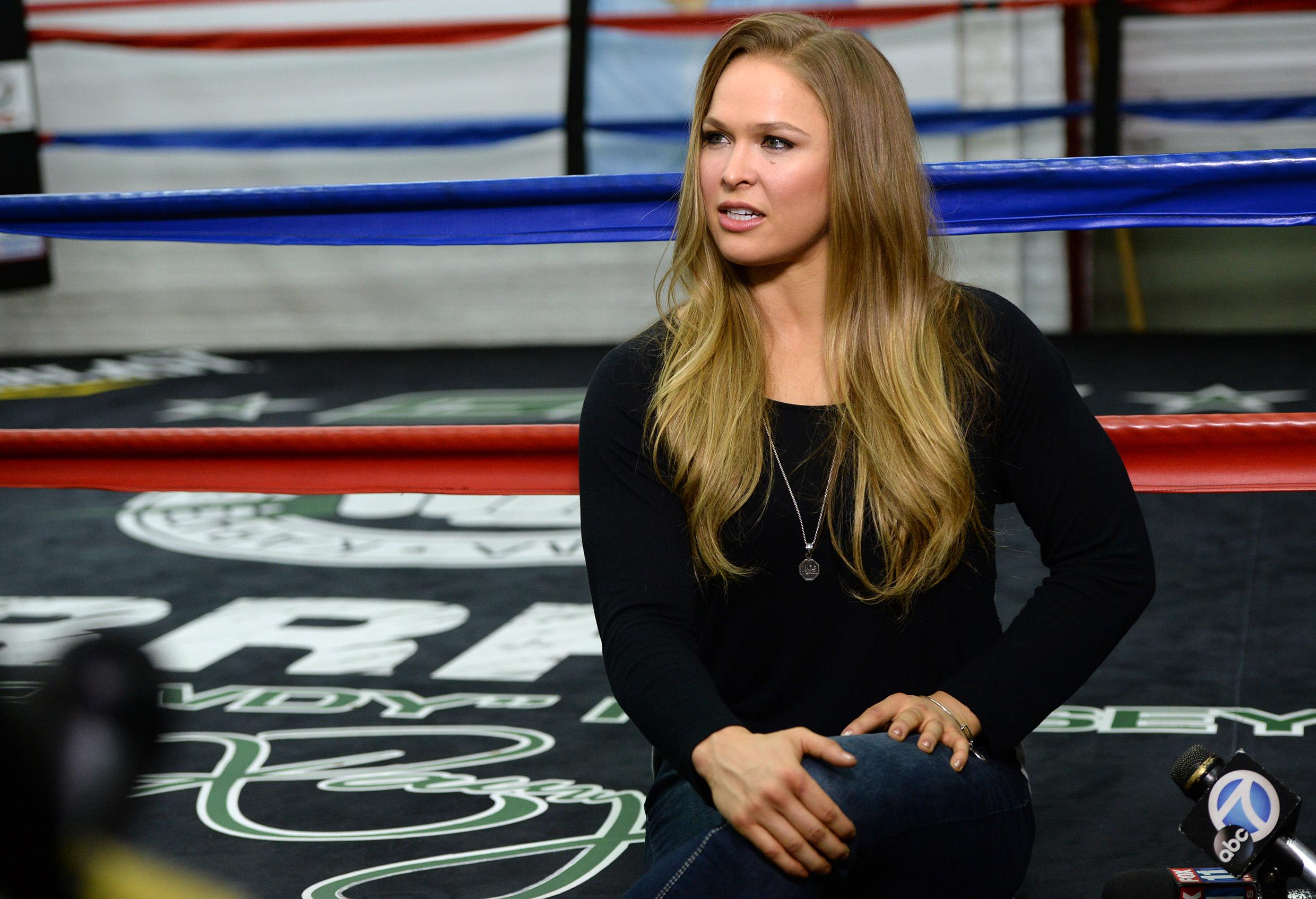 Ronda Rousey: New York is 'most dangerous place in the U.S. to do MMA'