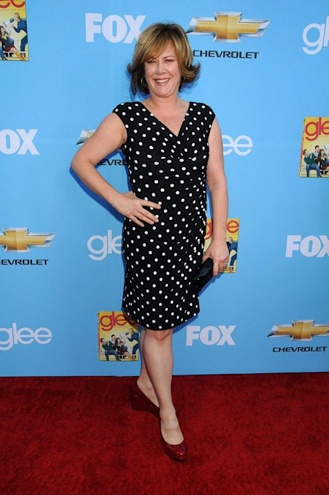 "Romy Rosemont attends the ""Glee"" Season 2 Premiere Screening and DVD Release Party at Paramount Studios on September 7, 2010, in Hollywood."