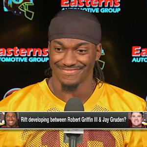 Washington Redskins quarterback Robert Griffin III: 'Just focused on San Francisco'