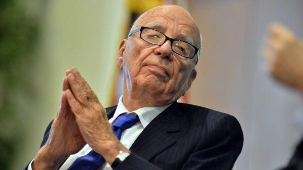 Rupert Murdoch Is Going Shopping