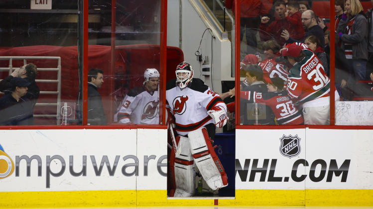 NHL: New Jersey Devils at Carolina Hurricanes