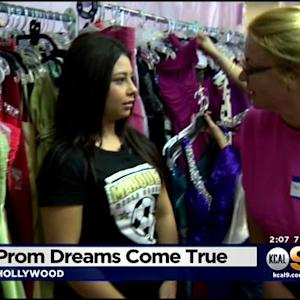 70 Homeless LAUSD Students Receive Free Prom Dresses