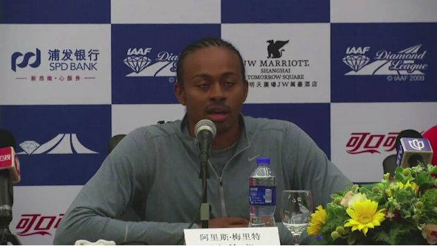 Merritt and Fraser-Pryce look ahead to Shanghai Diamond League [AMBIENT]