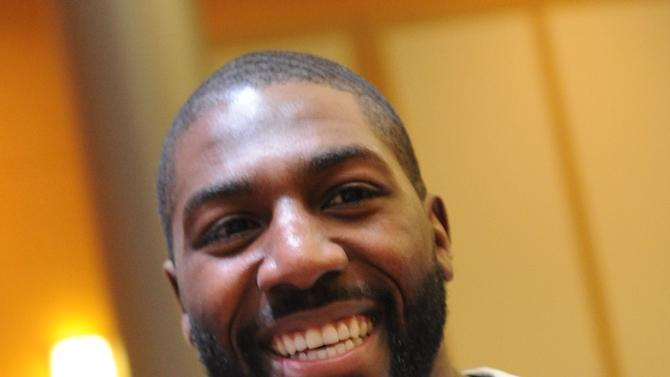 New England Patriot Greg Jennings is seen at the Starkey Hearing Foundation's Bring the Gift of Hearing to New Orleans event on Saturday, Feb. 2, 2013 in New Orleans. (Photo by Cheryl Gerber/Invision for Starkey Hearing Foundation/AP Images)