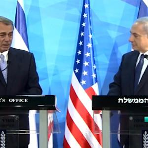 That Time Boehner & Netanyahu Didn't Know How To End A Presser