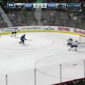 Matt Hackett Save on Dan Hamhuis (07:02/2nd)