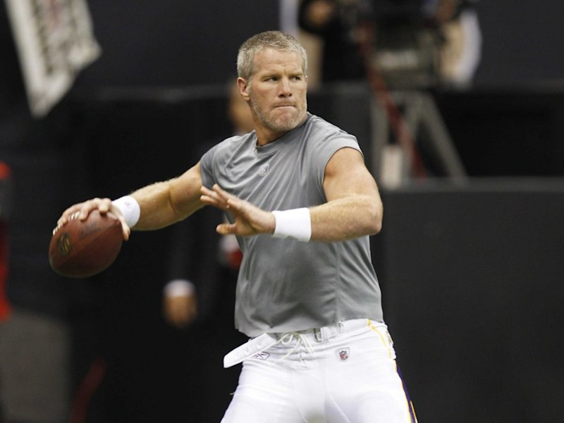 Brett Favre football