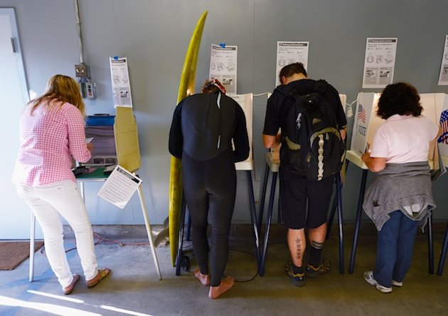 Scenes from Election Day: America votes
