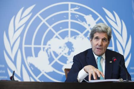 Kerry visits Riyadh to sooth fears of stronger Iran under nuclear deal