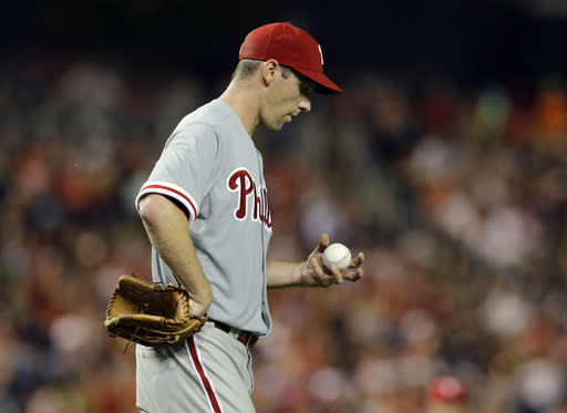 Werth, Nationals beat Phillies 8-5