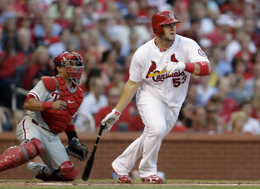 Westbrook helps Cardinals beat Phillies 11-3