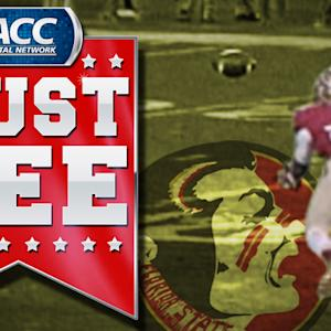 FSU LB Telvin Smith Makes Diving Interception | ACC Must See Moment