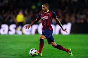 Dani Alves: La Liga contenders 'playing for their lives'