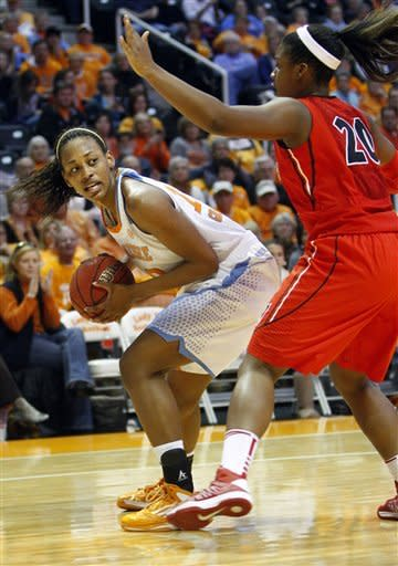 No. 12 Tennessee women topple No. 10 Georgia 79-66
