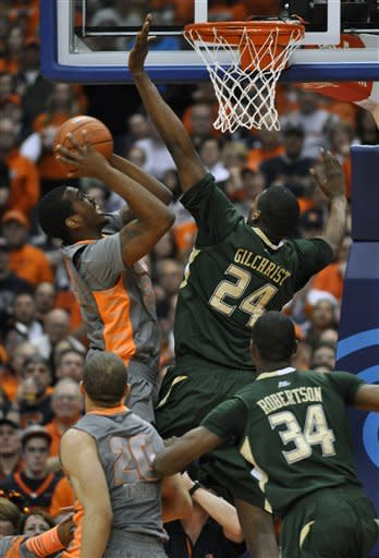 No. 2 Syracuse beats South Florida 56-48