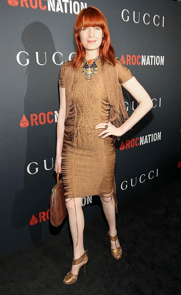 Florence Welch Gucci Brnch
