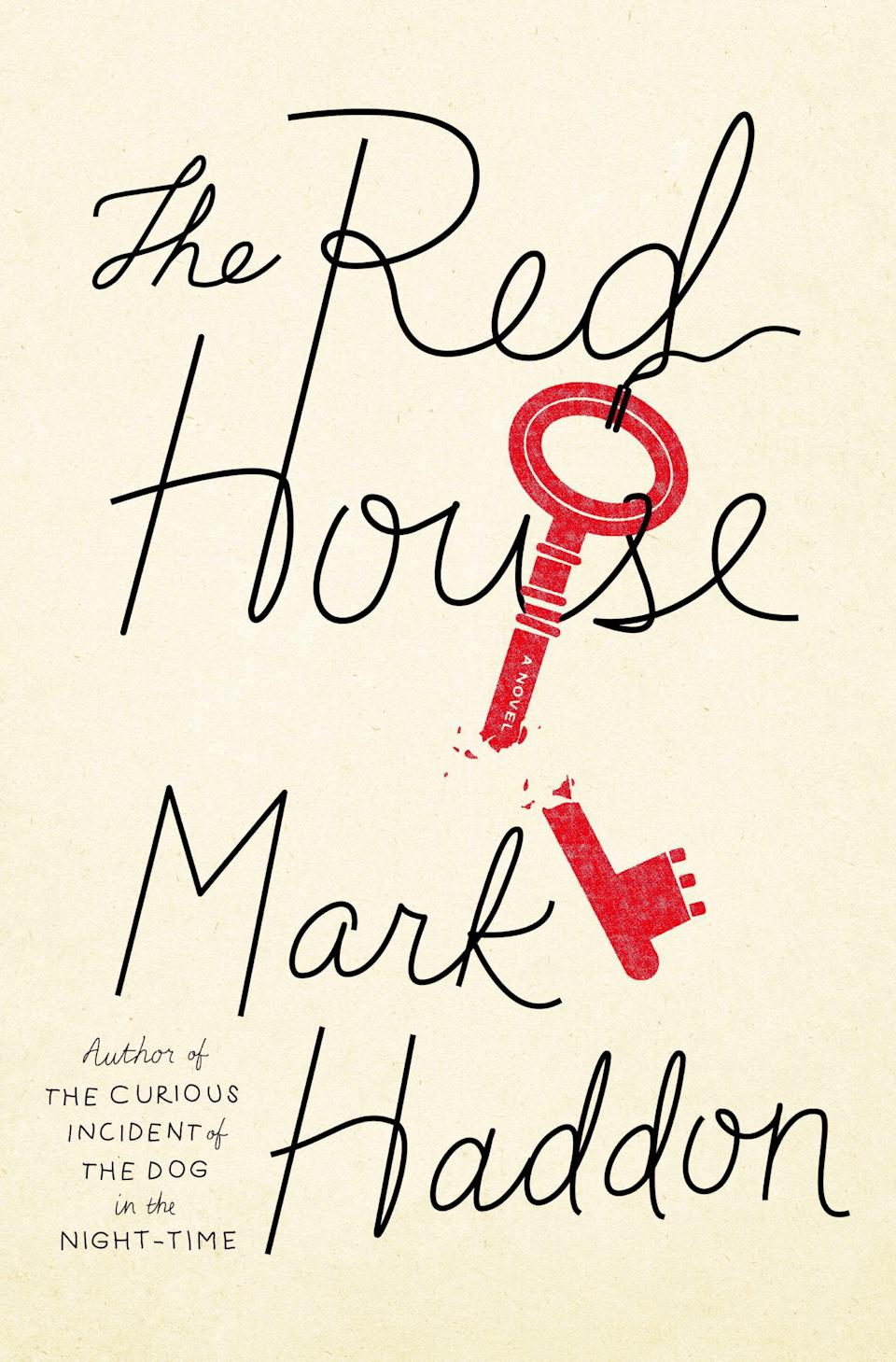 "This book cover image released by Doubleday shows ""The Red House,"" by Mark Haddon. (AP Photo/Doubleday)"