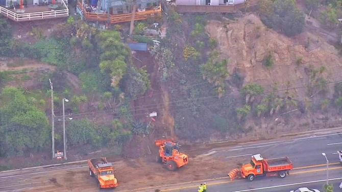 Pacific Palisades landslide: Temescal Canyon Road reopens