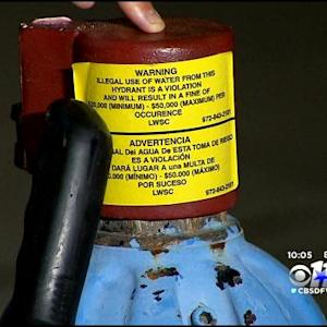Police Involved In Battle Over Locked Fire Hydrants