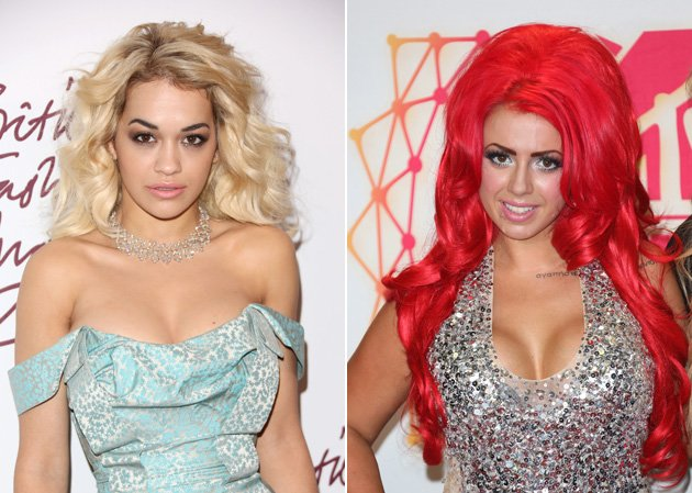 Rita Ora Holly Hagan