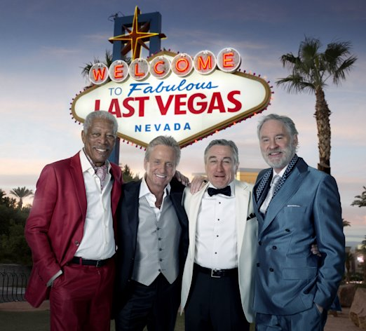 Morgan Freeman, Michael Douglas, Robert De Niro and Kevin Kline team up for Last Vegas