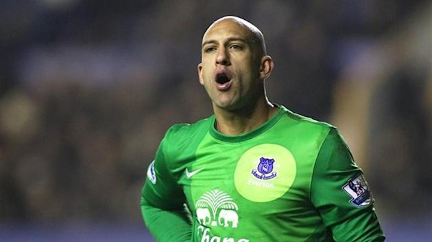 Everton's Tim Howard (Reuters)