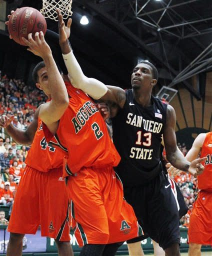 No. 24 Colorado State beats Aztecs 66-60