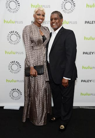 NeNe and Gregg Leakes in March 2013.