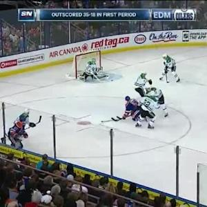 Kari Lehtonen Save on Anton Lander (12:20/1st)
