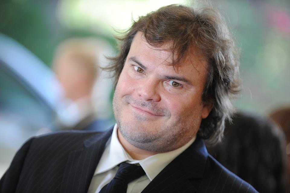 Jack Black attends the Hollywood Foreign Press Association luncheon at the Beverly Hills Hotel on Thursday, Aug. 9, 2012, in Beverly Hills, Calif. (Photo by Jordan Strauss/Invision/AP)