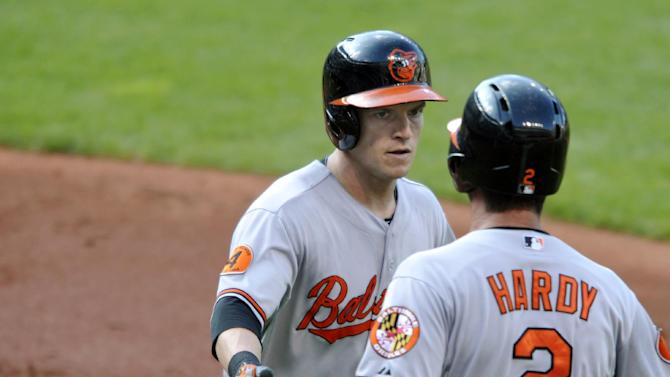 Masterson injured as Indians fall to Orioles 7-2