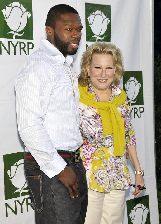 50 Cent, Bette Midler