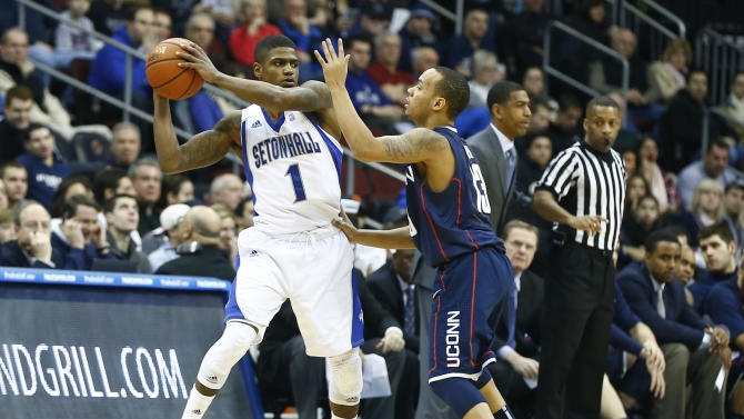 NCAA Basketball: Connecticut at Seton Hall